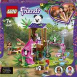 Конструктор LEGO Friends 41422 Джунгли: домик для панд на дереве