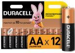 Батарейки Duracell АА 12шт