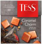 Чай черный Tess Caramel Charm 20 пак