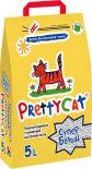 Наполнитель для кошачьих туалетов PrettyCat Супер белый 5л