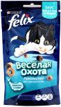 Хрустящее лакомство для кошек Felix креветка и рыба 50г