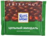 Шоколад Ritter Sport Молочный Цельный миндаль 100г