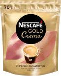 Кофе растворимый Nescafe Gold Crema 70г