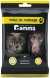 Салфетки влажные для животных Gamma Уход за лапами 15шт