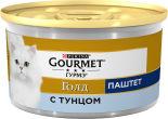 Корм для кошек Gourmet Gold Паштет с тунцом 85г