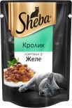 Корм для кошек Sheba Ломтики с кроликом в желе 85г