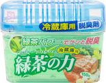 Поглотитель неприятных запахов Kokubo для общего отделения холодильника с экстрактом зеленого чая 150г