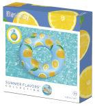 Круг надувной Bestway для плавания с ароматом лимона 119см