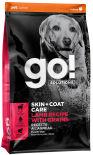 Сухой корм для щенков и собак Go! Skin+Coat Care с ягненком 1.59кг