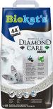 Наполнитель для кошачьего туалета Biokats Diamond care Classic с активированным углем 8л