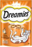 Лакомство для кошек Dreamies с курицей 30г