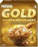Хлопья Nestle Gold Кукурузные с медом и арахисом 300г