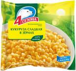 Кукуруза 4 сезона сладкая в зернах 400г