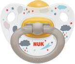 Соска-пустышка Nuk Classic Happy Kids Облака латексная 18-36 месяцев
