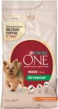 Сухой корм для собак Purina One для активных собак c курицей и рисом 1.5кг