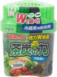 Поглотитель неприятных запахов Kokubo Сила угля и зеленого чая двойной 180г