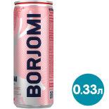 Напиток Borjomi Flavored Water Земляника-Артемизия без сахара 330мл