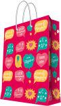Пакет подарочный Magic Pack С Днем Рождения! 26*32.4*12.7см