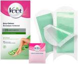 Полоски для депиляции Veet восковые для сухой кожи 12шт