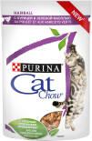 Корм для кошек Cat Chow Hairball Курица и Зеленая фасоль в соусе 85г
