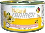 Корм для собак Trainer Natural Mini Сыровяленая ветчина рис маточное молочко 150г