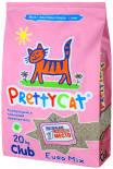 Наполнитель для кошачьего туалета PrettyCat Euro Mix комкующийся 20кг