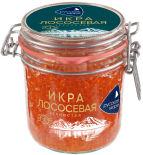 Икра лососевая Русское море зернистая 500г