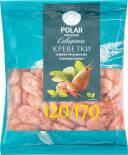 Креветки Polar варено-мороженые неразделанные 120/170 500г
