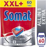 Таблетки для посудомоечных машин Somat All-in-1 60шт
