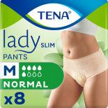 Впитывающие трусы Tena Lady Slim Pants Normal для женщин размер М 8шт