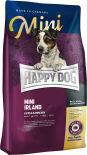 Сухой корм для взрослых собак Happy Dog Лосось и кролик 4кг