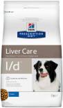 Сухой корм для собак Hills Prescription Diet l/d при заболеваниях печени 2кг