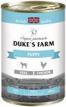 Корм для щенков Dukes Farm Телятина и курица 400г