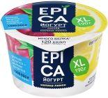 Йогурт Epica Малина-лимон 4.8% 190г