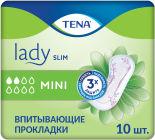 Прокладки Tena Lady Slim Mini урологические 10шт