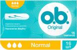 Тампоны O.B. Original Normal 16шт