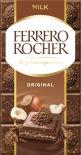 Шоколад Ferrero Rocher Молочный с лесным орехом 90г