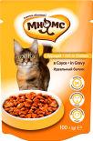 Корм для кошек Мнямс Идеальный баланс с курицей в соусе 100г