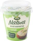Сыр Arla Natura сливочный мягкий с зеленью 55% 150г