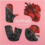 Ягодный микс Artfruit Love Голубика Клубника 500г упаковка