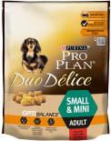 Сухой корм для собак Pro Plan Duo Delice Small&Mini Adult для мелких пород с говядиной 700г
