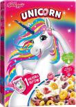 Готовый завтрак Kelloggs Unicorn Радужные колечки с фруктовым вкусом 195г