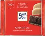 Шоколад Ritter Sport Темный Марципан 100г