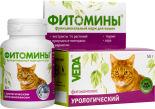 Фитомины для кошек Veda урологический 50г