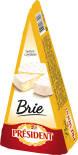 Сыр President Бри мягкий с белой плесенью 60% 200г