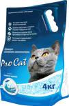 Наполнитель для кошачьего туалета Pro Cat силикагель премиум 4кг