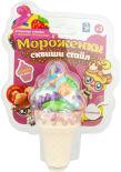 Игрушка 1Toy Мороженки сквиши стайл сахарная вата 12см