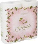 Бумажные полотенца Gentle Soft с ароматом Европы 2 рулона 2 слоя