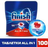 Таблетки для посудомоечных машин Finish All-in-1 Max 100шт