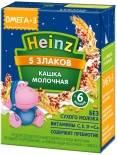 Каша Heinz 5 злаков молочная с Омега 3 200мл